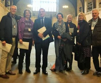 Withybrook Parliament Visit